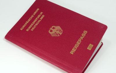 Neuer Deutscher Reisepass